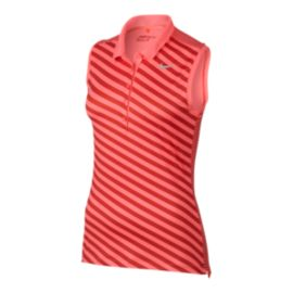 Nike Golf Women's Precision Print Sleeveless Polo