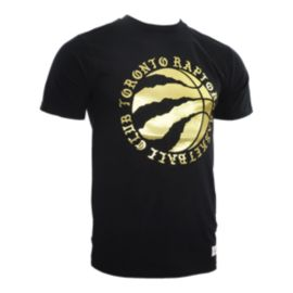 Toronto Raptors Embryo Gold Foil T Shirt