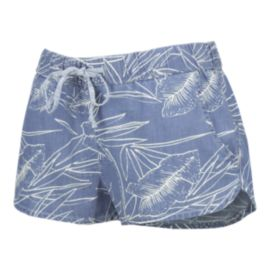 Vans Women's Janek II Printed Denim Short