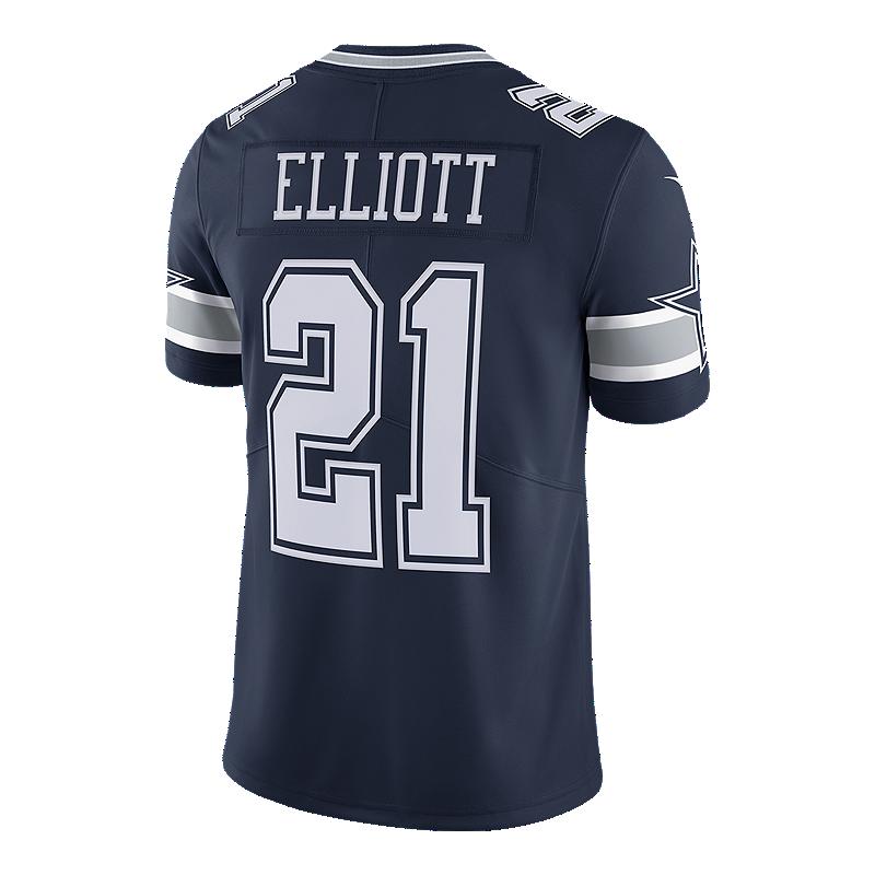 super popular 2ba92 0a4d4 Dallas Cowboys Ezekiel Elliot Limited Football Jersey