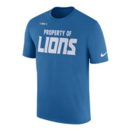 Detroit Lions Nike Property Of Facility T Shirt