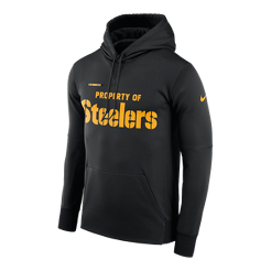 ef5a4dafd Pittsburgh Steelers Nike Pullover Therma Hoodie
