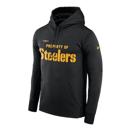 timeless design 0ee69 ff5c9 Pittsburgh Steelers Nike Pullover Therma Hoodie