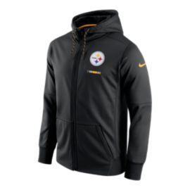 Pittsburgh Steelers Nike Therma Full Zip Hoodie