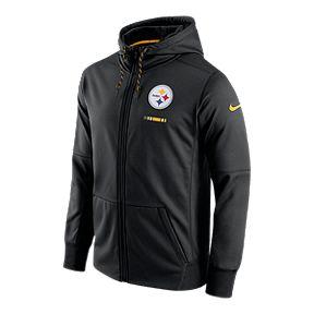 863f65ee8 Pittsburgh Steelers Nike Therma Full Zip Hoodie