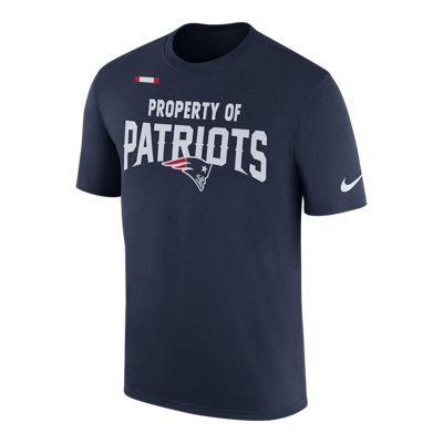 New England Patriots Nike Property Of Facility T Shirt