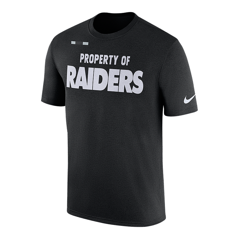 Oakland Raiders Nike Property Of Facility T Shirt  909dd78ca