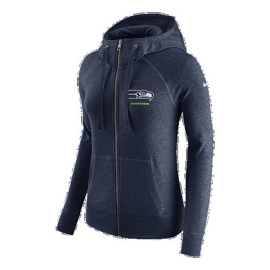 huge selection of b0053 c8432 Seattle Seahawks Nike Women's Gym Vintage Full Zip Hoodie