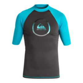 Quiksilver Boys' 8-16 Active Short Sleeve Rashguard