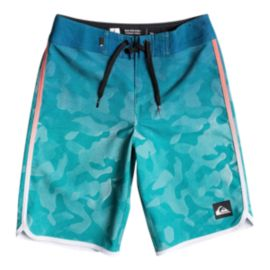 Quiksilver Boys' Shore Scallop 18 Inch Boardshorts