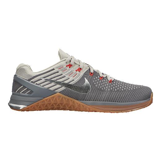 size 40 4f54a b7006 Nike Men s Metcon DSX Flyknit Training Shoes - Grey Gum Brown   Sport Chek