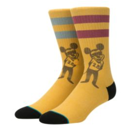 Stance Men's Disney Pope Mickey Mouse Crew Socks