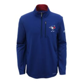 Toronto Blue Jays Kids' 1/2 Zip Mock Top