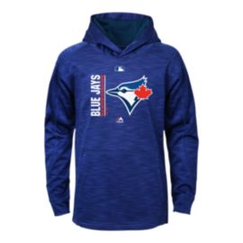 Toronto Blue Jays Kids' Authentic Collection Team Icon Streak Hoodie