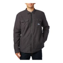 Fox Men's Torrent Sherpa Flannel Shirt - Heather Black