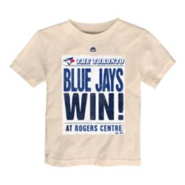 Toronto Blue Jays Toddler Front Page T Shirt