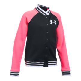 Under Armour Girls' Armour® Fleece Bomber Jacket