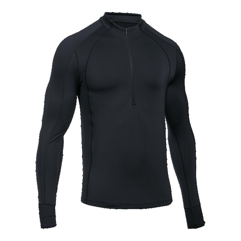 a3ea03cc Under Armour Men's ColdGear Reactor 1/2 Zip Long Sleeve Running Shirt    Sport Chek