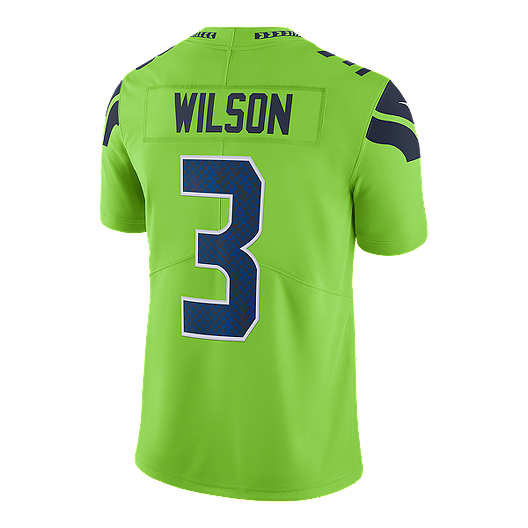 online store a3e92 61d10 Seattle Seahawks Russell Wilson Color Rush Football Jersey