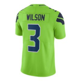 Seattle Seahawks Russell Wilson Color Rush Football Jersey