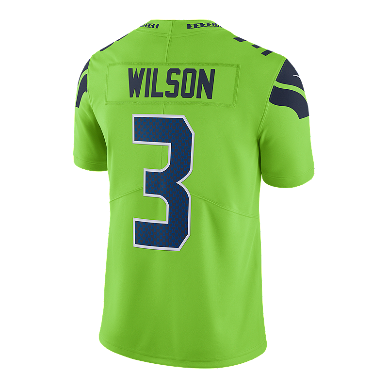 online store 2b7aa 3c81a Seattle Seahawks Russell Wilson Color Rush Football Jersey