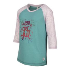 Firefly Girls' Ashton 3/4 Sleeve T Shirt