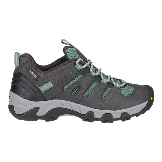e2a24bb5efd Keen Women's Koven Low Waterproof Hiking Shoes - Raven/Malachite
