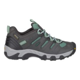 Keen Women's Koven Low Waterproof Hiking Shoes - Raven/Malachite