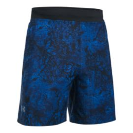 "Under Armour Men's Speedpocket Printed 7"" Running Shorts"