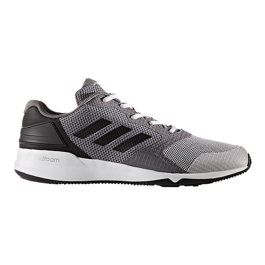 054dabc5ed1a0 adidas Men s CrazyTrain 2.0 Cloudfoam Training Shoes - Grey Black ...