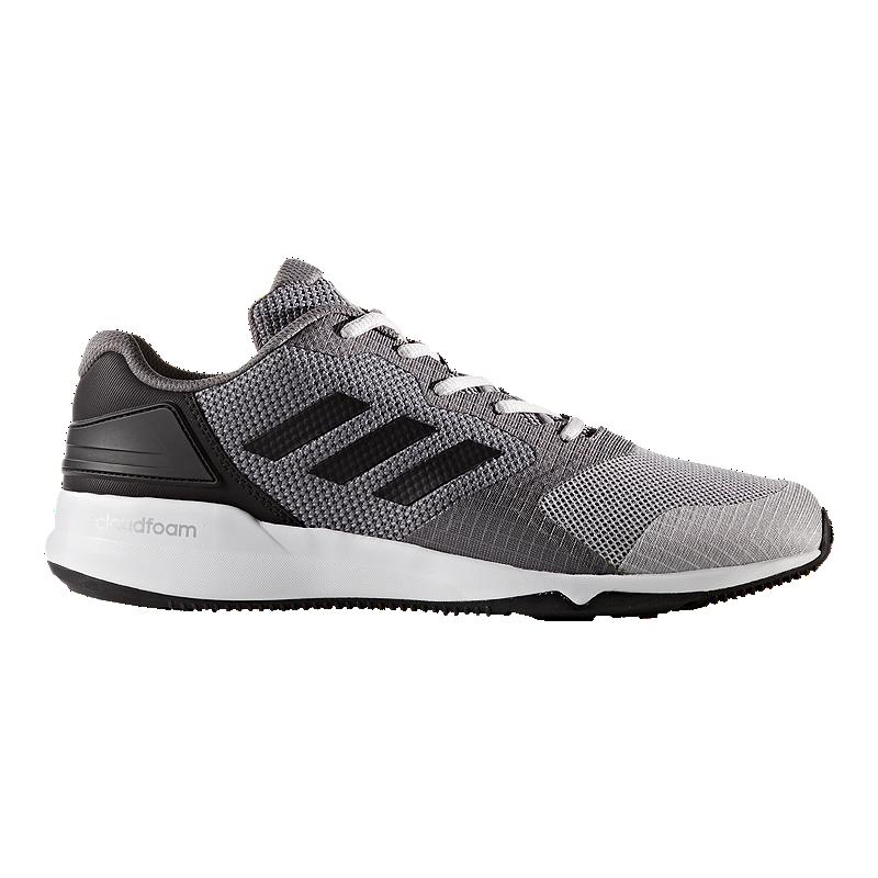 buy online 48a6f 57001 adidas Mens CrazyTrain 2.0 Cloudfoam Training Shoes - GreyBlack  Sport  Chek
