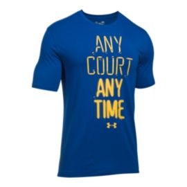 Under Armour Any Court Any Time Basketball T Shirt