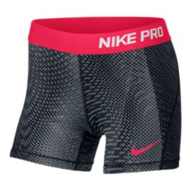 Nike Pro Cool Girls' All Out Print 3 Shorts