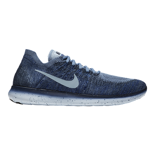 new product 5be9e 7ba6e Nike Men s Free RN Flyknit 2017 Running Shoes - Blue Fog Navy - OCEAN FOG