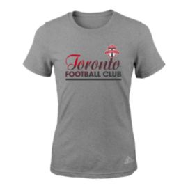 Toronto FC Girls' Slant Line Repeat T Shirt