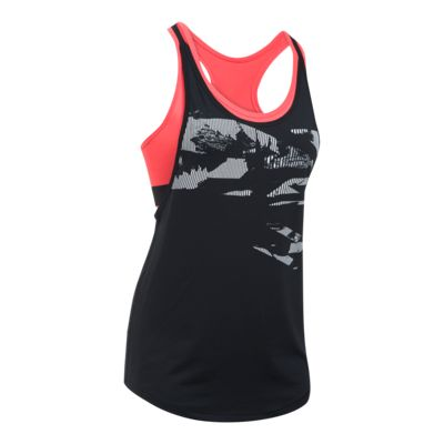 Under Armour Women's HeatGear 2-in-1 Printed Tank