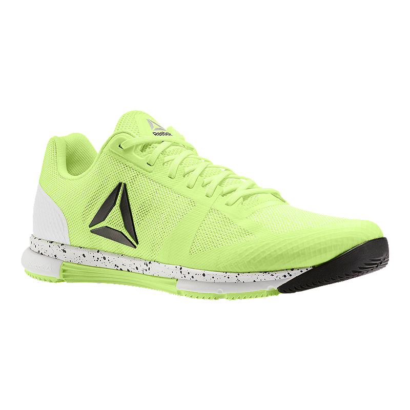 f2c668ede0299d Reebok Men s CrossFit Speed TR 2.0 Training Shoes - Electric Green White