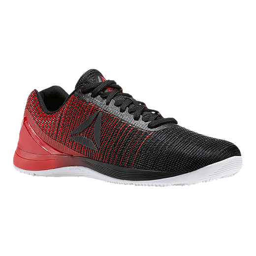 fe5b772ed3103 Reebok Men's CrossFit Nano 7 Weave Training Shoes - Black/Red/White - BLACK
