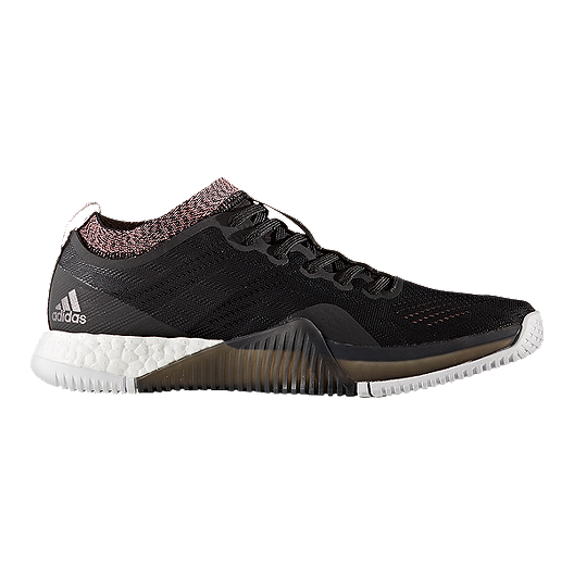 97dd9d77e adidas Women s Crazy Train Elite Boost Training Shoes - Black Silver ...
