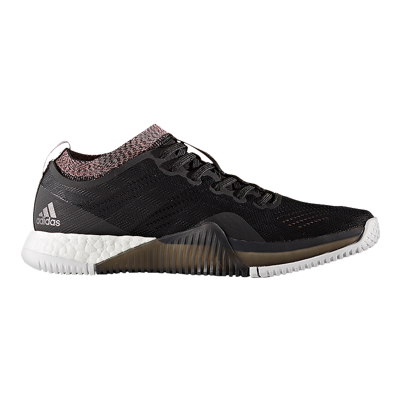 outlet store 389f4 b0bb8 adidas Womens Crazy Train Elite Boost Training Shoes - BlackSilver   Sport Chek