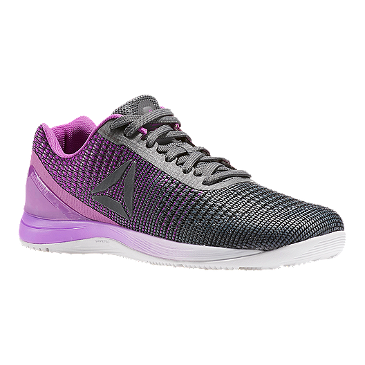 4585215b Reebok Women's CrossFit Nano 7 Weave Training Shoes - Grey/Purple/White |  Sport Chek