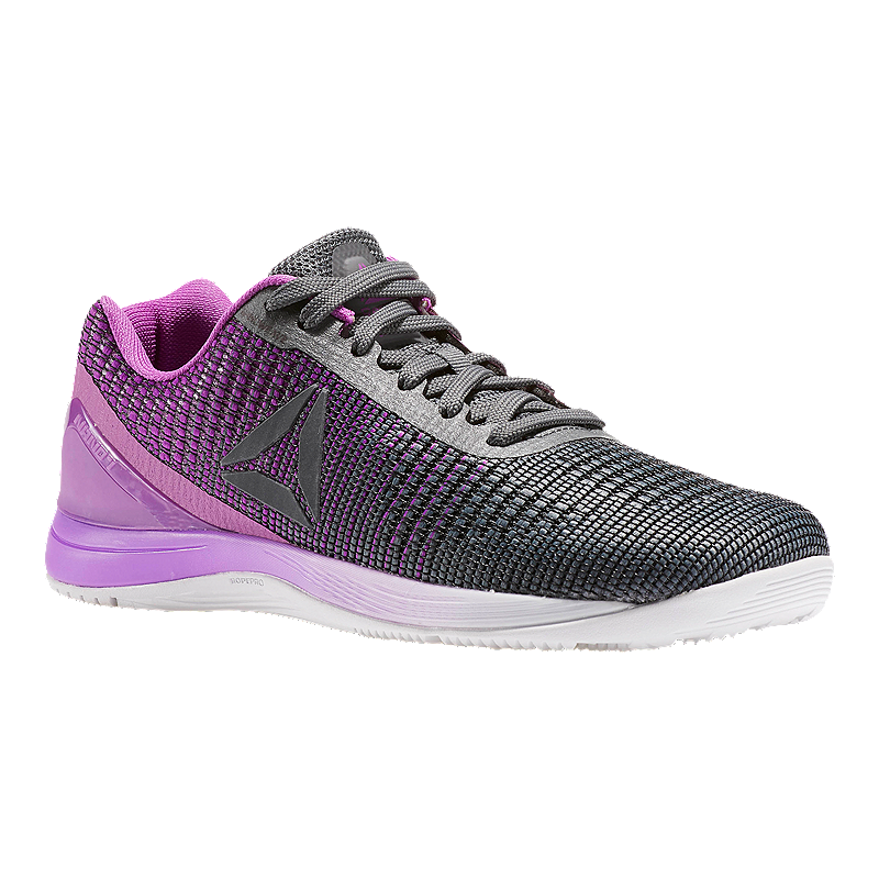 621933759e04 Reebok Women s CrossFit Nano 7 Weave Training Shoes - Grey Purple White
