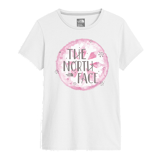 204f2c0fc The North Face Girls' Graphic Short Sleeve T Shirt | Sport Chek