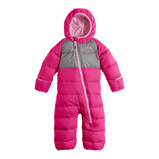 e612ed7ec The North Face Baby Girls' Lil' Snuggler Down Snow Suit | Sport Chek