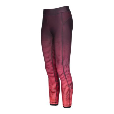 Under Armour Women's HeatGear Graphic Crop Tights