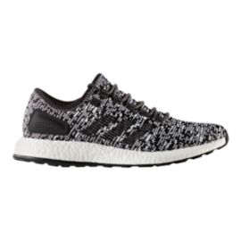 adidas Men's Pure Boost Running Shoes - Black/White