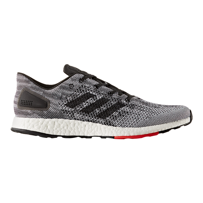 adidas Men s Pure Boost DPR Running Shoes - Black White 429aef20f