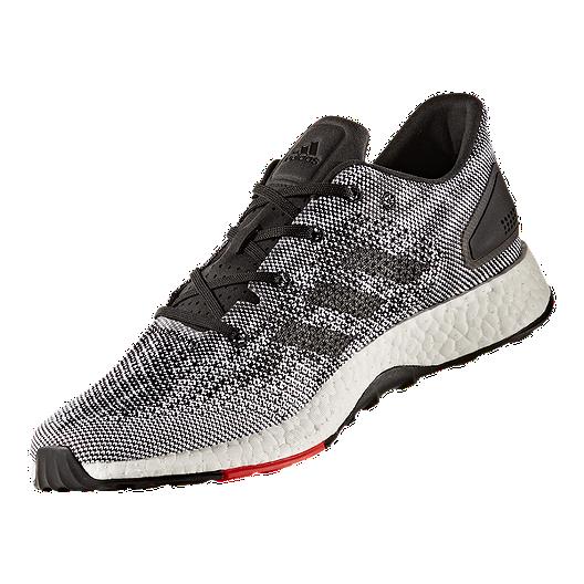 ef3190db95fc3 adidas Men s Pure Boost DPR Running Shoes - Black White. (3). View  Description
