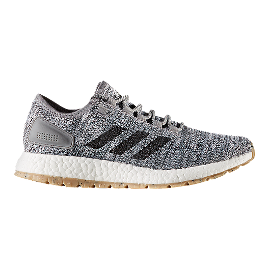 5ecb8f41f559a adidas Men s Pure Boost ATR Running Shoes - White Black Grey