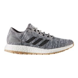 adidas Men's Pure Boost ATR Running Shoes - White/Black/Grey